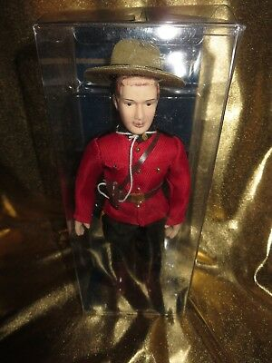 Royal Canadian Mounted Police RCMP Elite Action Figure Doll NEW
