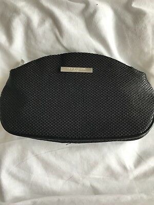 2d8fd0609c4e GIORGIO ARMANI RED Make Up Cosmetic Bag Party Clutch Pouch   New ...