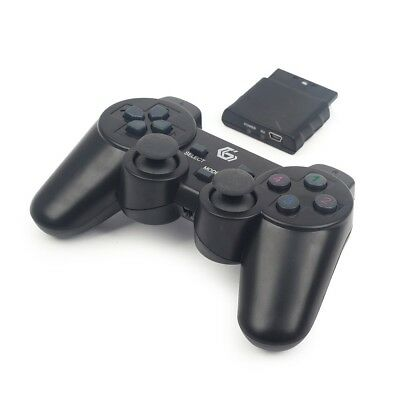 Techmade Joypad Wireless Con Vibrazione Per Ps2 Ps3 Pc Jpd-Wdv-01