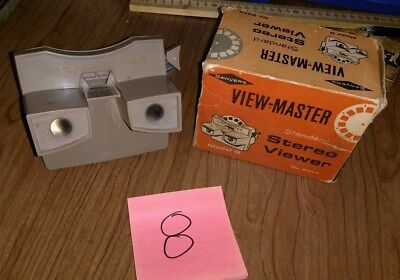 Viewmaster Model G Viewer Taupe in Original Box (#8)