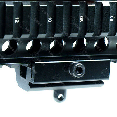Quick Detach Cam Locking Bipod Sling Adapter Mount For 20mm Picatinny Rail Hunt