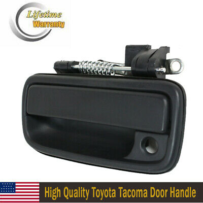 For Tacoma 95-04 Black Left Outside Outer Exterior Front Door Handle Toyota