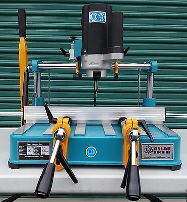 *b200* ASLAN MACHINE Table Top Copy Router for Vinyl, Aluminum and Fiberglass.