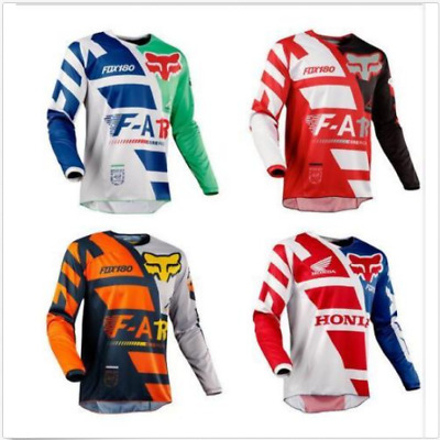 2018 Fox Racing Mens 180 Jersey MX Motocross Dirt Bike Off-Road ATV Adult