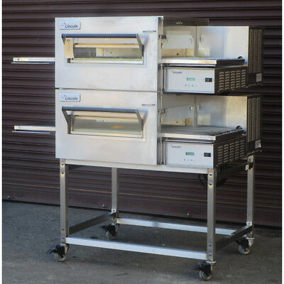 Lincoln 1133-000-U-K1837 Conveyor Pizza Oven, Used Very Good Condition