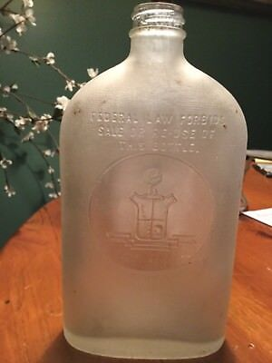 Continental Distilling Corp. - Philadelphia, PA  - Federal Law Forbids... Bottle