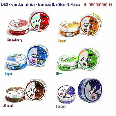 KMES Hair Wax Profession Touchness Style Wax 150ml - 6 Flavors - FREE Shipping