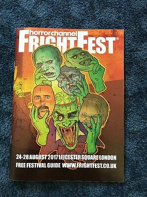 Frightfest Programme Guide Aug 2017
