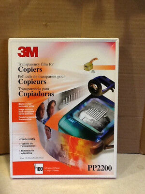 3M Transparency Film For Copiers PP2200 70 Sheets 8.5 x 11