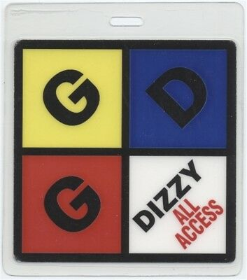 Goo Goo Dolls authentic 1999 Laminated Backstage Pass Dizzy Up the Girl Tour AA