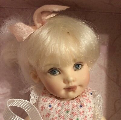 Lisette Gift Set By Helen Kish- Tiny Doll With Adorable Clothes- NRFB