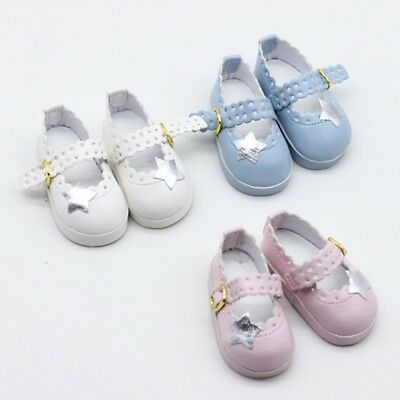 """Doll Accessory Cute PU Leather Ankle Belt Shoe Doll Shoes for 16"""" Dolls Favor"""
