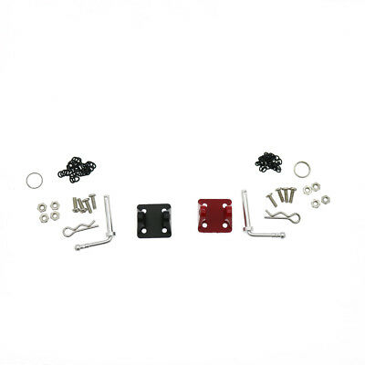 Metal Tow Shackle Trailer Hook Set For 1:10 RC Axial SCX10 Traxxas TRX-4 Crawler