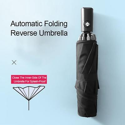 Large Umbrella Automatic Inverted Reverse Foldable 3 Folding Travel Portable Hot