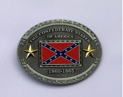 The Confederate States of America Unique belt buckle