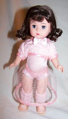 Madame Alexander 8-inch Ballet Class doll w/box, no paper tag or stand-30545