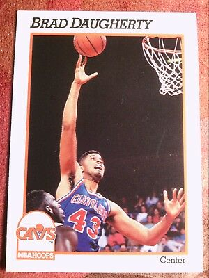 7481ae0b977df 1989-90 NBA HOOPS #48 All-Star Game Brad Daugherty Cleveland ...