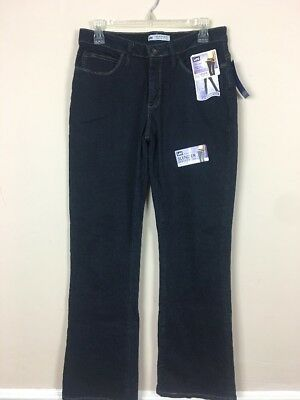 0254eced Lee NWT Women's Size 8P Slender Secret Flat Ultra Stretch Midrise Jeans