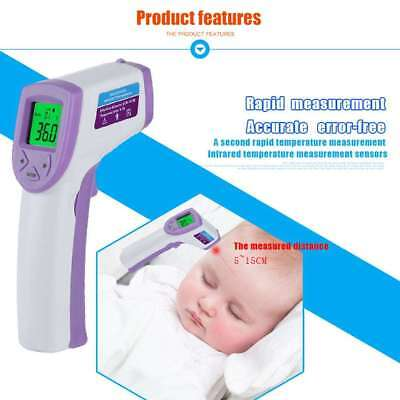 Non-Contact Ir Infrared Forehead Digital Lcd Thermometer Temperature Meter Humb