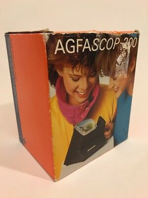 Agfascop 200 35mm Slide Viewer AC Powered backlight Made in Germany