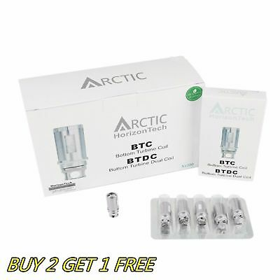 Buy 2 Get 1 Free Replacement btdc Coils for Horizon tech Arctic 0.2 0.5 ohm