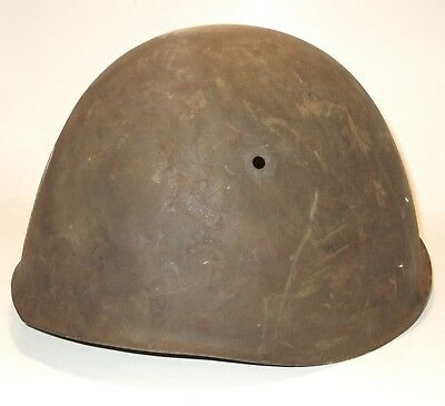 Original Named WWII Italian M33 Helmet Shell