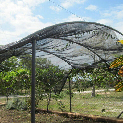 Agfabric Sunblock Shade Cloth Cover with Clips for Plants Black Protects plants