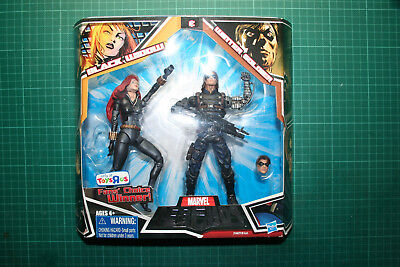 Marvel Legends Winter Soldier Toys R Us Exclusive Variant Widow Two Twin 2 Pack