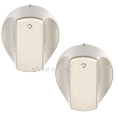 2 x Cooker Oven Hob Control Knob Switch Dial For Hotpoint Hot-Ari IX Models