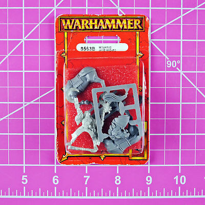 Warhammer Empire Mounted Jade Wizard NIB Metal - OOP - Games Workshop Citadel