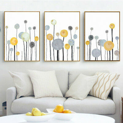 Modern Abstract Unframed Canvas Print Painting Picture Wall Hanging Decor Grand