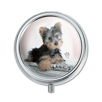 YORKIE YORKSHIRE TERRIER Dog Briefcase Pill Case Trinket
