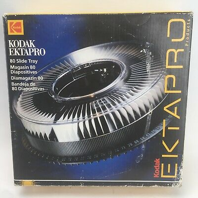 Kodak Ektapro 80 Slide Tray Projection Slides Retro Magazine 35mm Photography