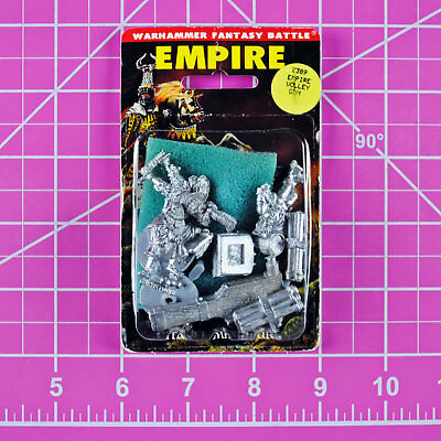 Warhammer Empire Helblaster Volley Gun, Metal OOP Games Workshop Classic Citadel