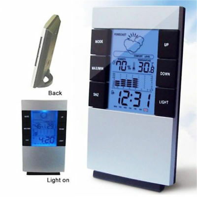 Digital LCD Thermometer Humidity Meter Room Temperature Indoor LCD Hygrometer
