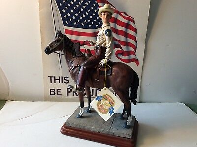 """1998 Vanmark Legends of the Law """"The Peacemaker"""" TH86514 Officer on Horseback"""