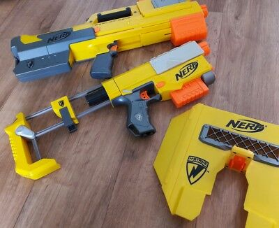 Nerf Bundle Joblot Deploy Cs-6 Recon Cs-6 With Shield Tested Working