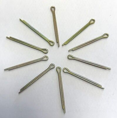 "STEEL SPLIT COTTER PIN 1/16""x 3/4"" / 1.6 x 19 PACK OF 10"
