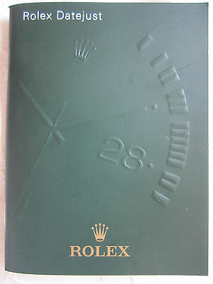 Rolex Oyster Perpetual DateJust Chrono 2008 Italian Instruction Manual Booklet