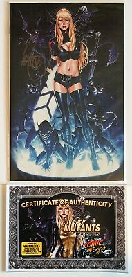 NEW MUTANTS DEAD SOULS #1 • MARK BROOKS VIRGIN VARIANT 'C' • MAGIK SIGNED w/COA