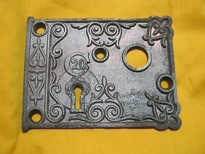 FRONT PLATE FOR VINTAGE C20 RIM LOCK - Eastlake Era