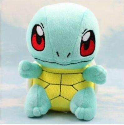 """6.5"""" New SQUIRTLE Lovely Stuffed Soft Plush Toys Doll figure Xmas"""