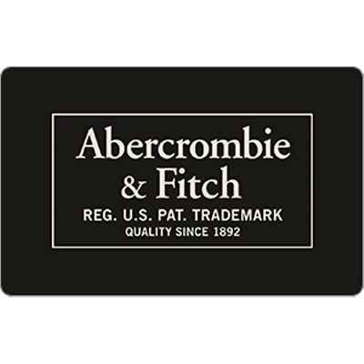 Abercrombie Gift Card $100 Value, Only $90.00! Free Shipping!