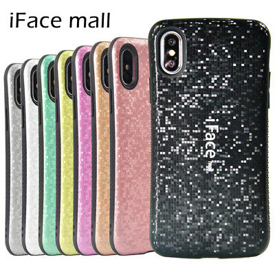 iFace Case Bling Mosaic Slim Heavy Duty Shockproof Cover For iPhone X 6 7 8 Plus