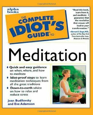 The Complete Idiot's Guide to Meditation-