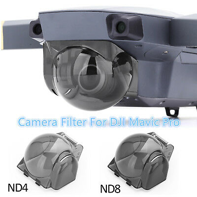 For DJI MAVIC PRO Accessories ND4/ND8 Gimbal Camera Lens Filter Cover Hood Kit