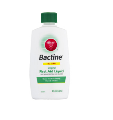 Bactine Original First Aid Liquid, 4 Ounce   *8 Pack*