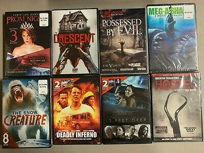 DVD lot New Free Ship 13 Horror movies Vampires Stephen King Amityville Toxic Sh