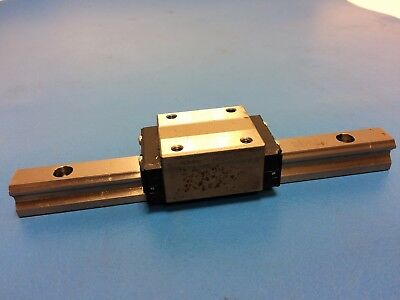 Thk Hsr15R Linear Motion Bearing And 16Cm Long Guide Pair Used In Good Condition
