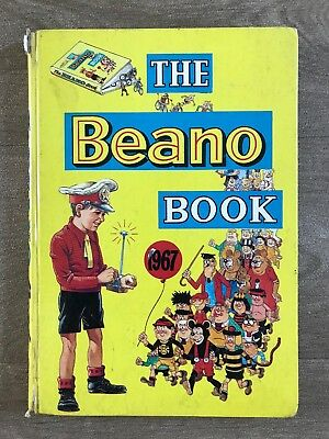 Good - The Beano Book 1967 - D.C. THOMPSON 1966-01-01 The hinges are in good con
